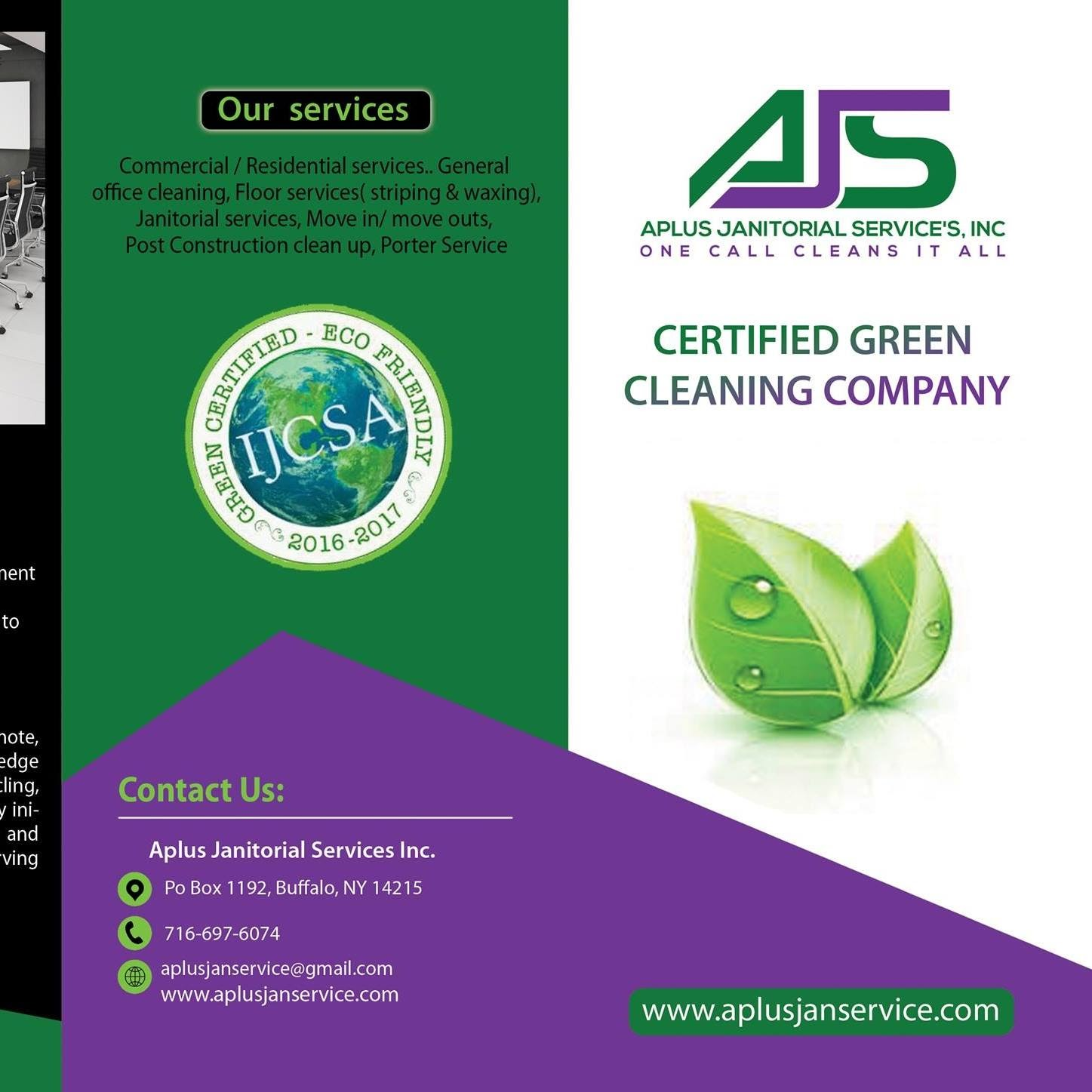 Aplus Janitorial Services - cover photo