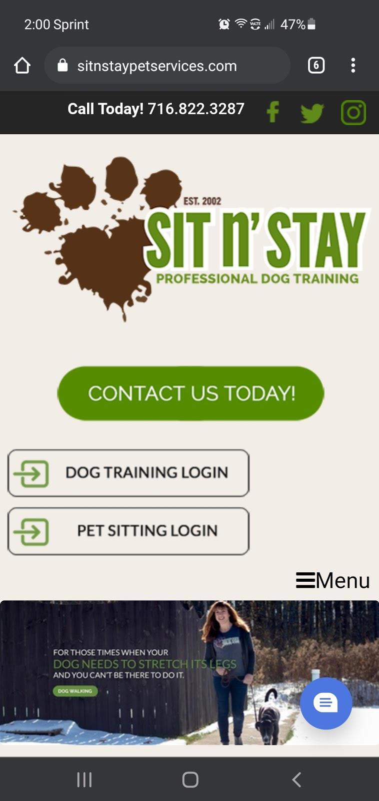 Sit 'n Stay Pet Services - cover photo